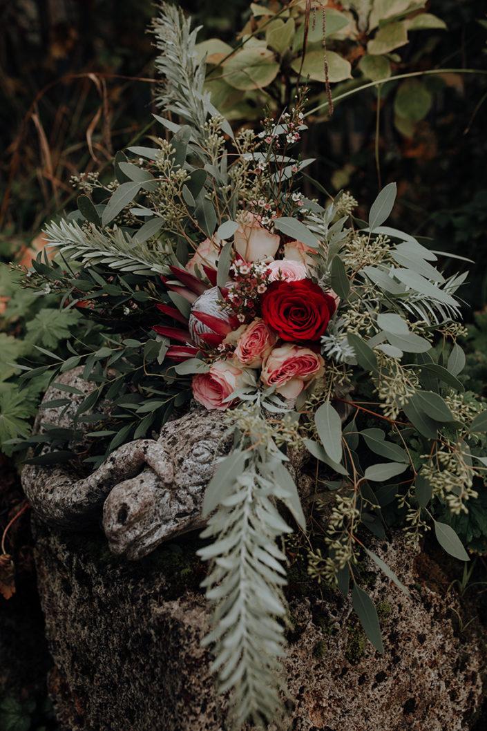 Brautstrauss, Boho, Hochzeit, Die alte Gärtnerei