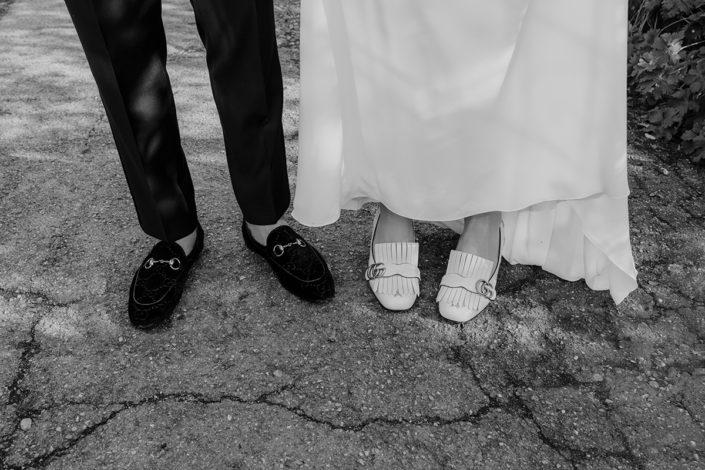 Hochzeit, die alte Gärtnerei, Schuhe, Paarshooting