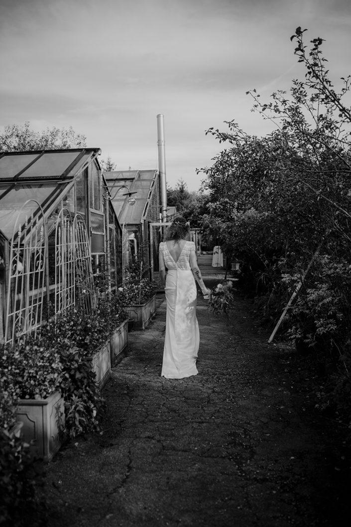 Braut, die alte Gärtnerei, Hochzeit, Paarshooting