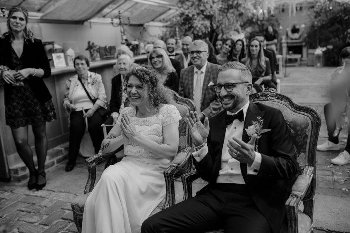 Hochzeit, die alte Gärtnerei, Trauung, Brautpaar