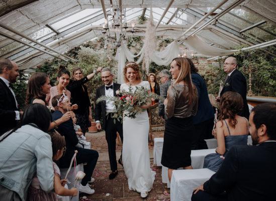 Trauung, Brautpaar, Boho, Die alte Gärtnerei, Hochzeit