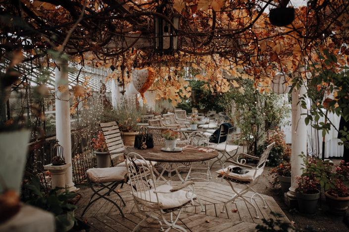 Die alte Gärtnerei, Hochzeit, Location, Herbst