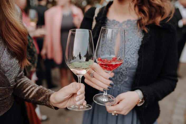 Hochzeit, Feier, Aperitiv, Prost