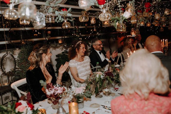 die alte Gärtnerei, Hochzeit, Feier, Brautpaar, Rede