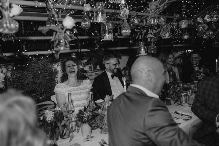 die alte Gärtnerei, Hochzeit, Rede, Feier