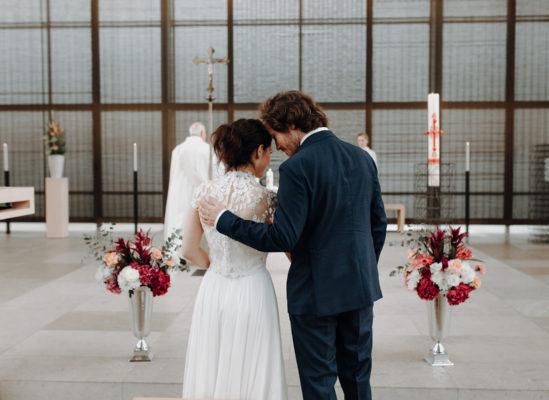 Carolin & Julian, Elegante Hochzeit im Botanischen Garten