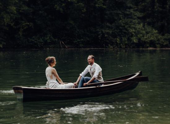 Franzi & Jon, Kleine Hochzeit im Englischen Garten