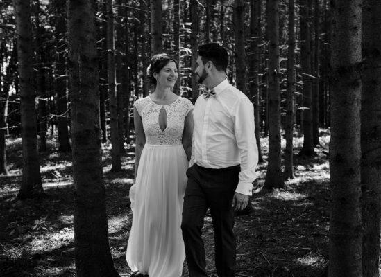 Astrid & Vincent, Standesamt und Feier im Gutsgasthof Stangl