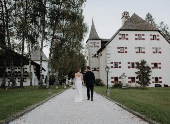 Marisa & Martin, Hochzeit auf Schloss Prielau in Zell am See